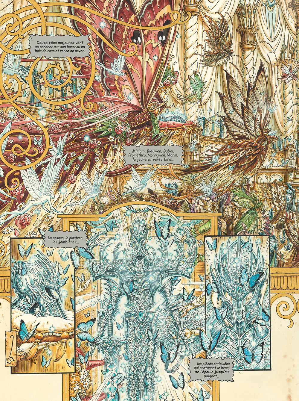 Extrait n°3 de la bd tome 3 par Olivier Ledroit