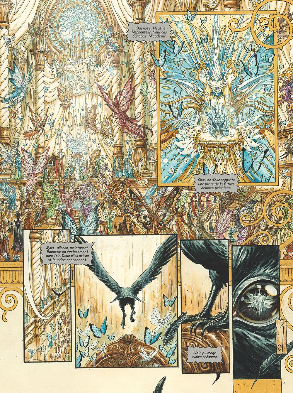 Extrait n°4 de la bd tome 3 par Olivier Ledroit