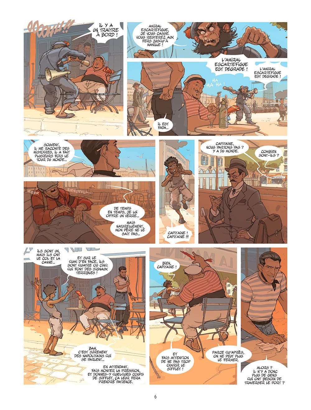 Extrait n°2 de la bd tome 1 par Éric Stoffel