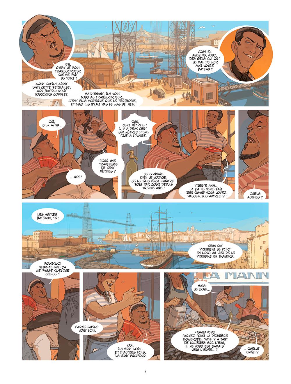 Extrait n°3 de la bd tome 1 par Éric Stoffel