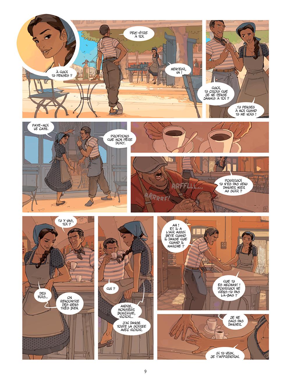 Extrait n°5 de la bd tome 1 par Éric Stoffel