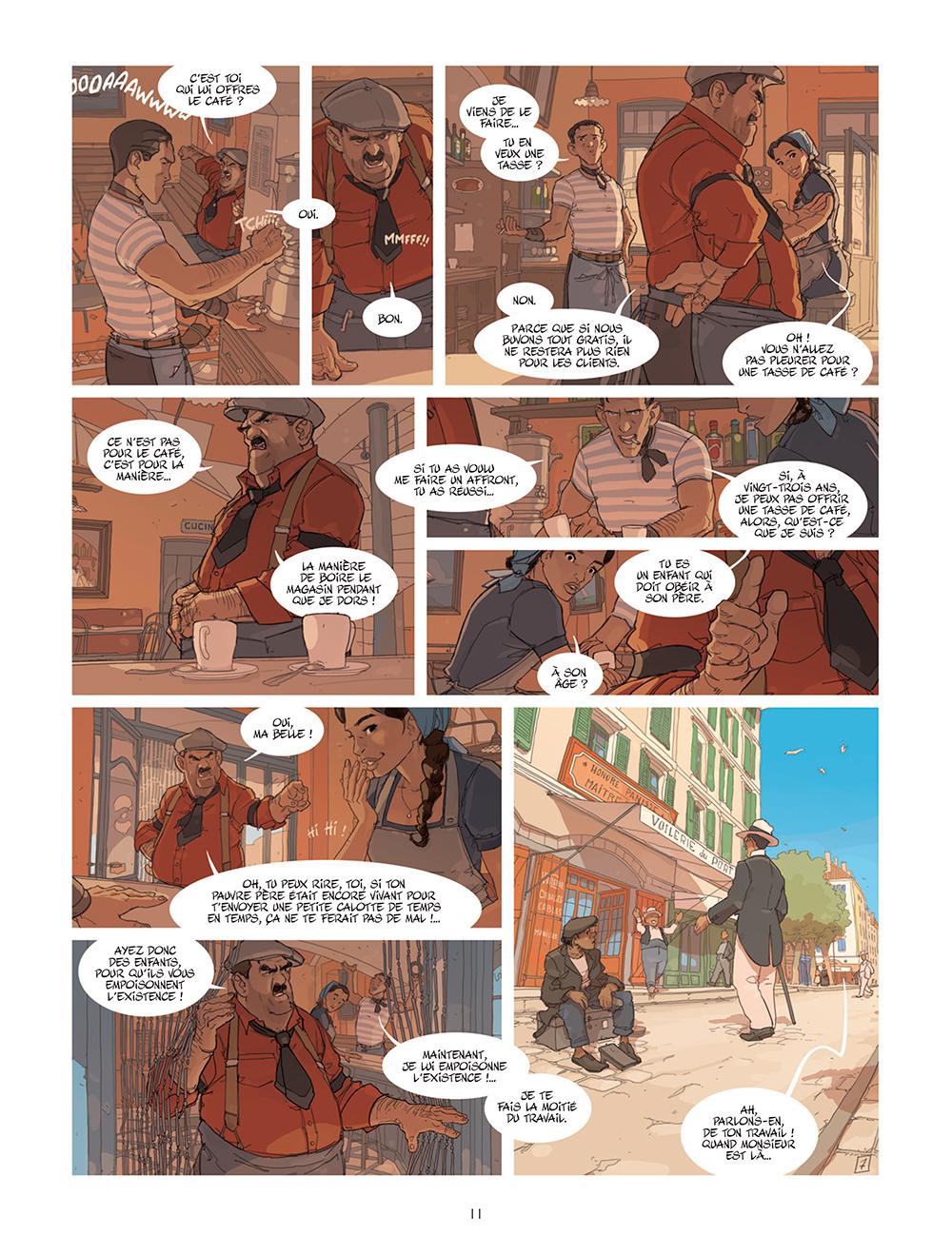 Extrait n°7 de la bd tome 1 par Éric Stoffel