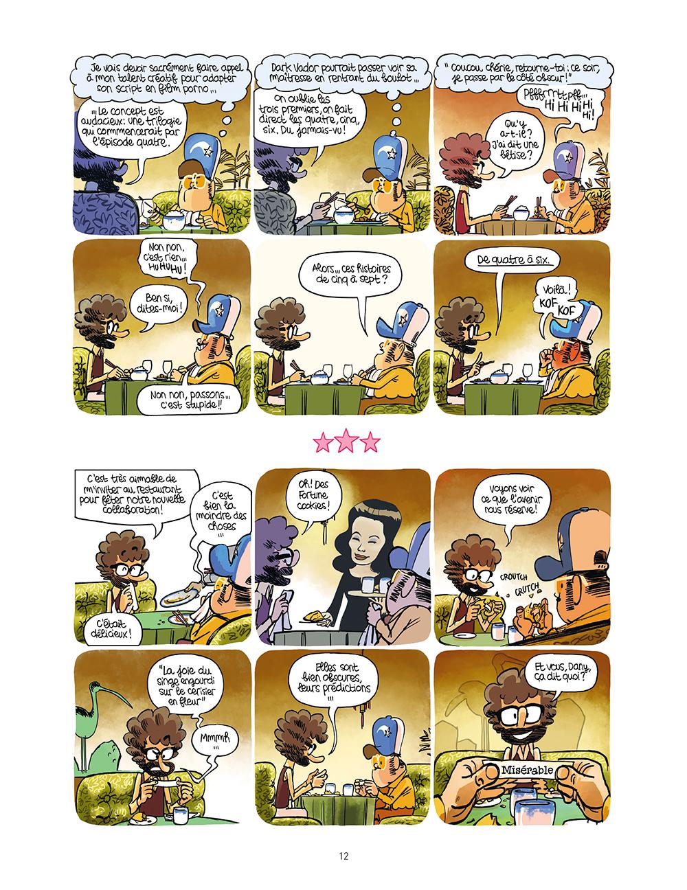 Extrait n°10 de la bd Star Fixion par Obion