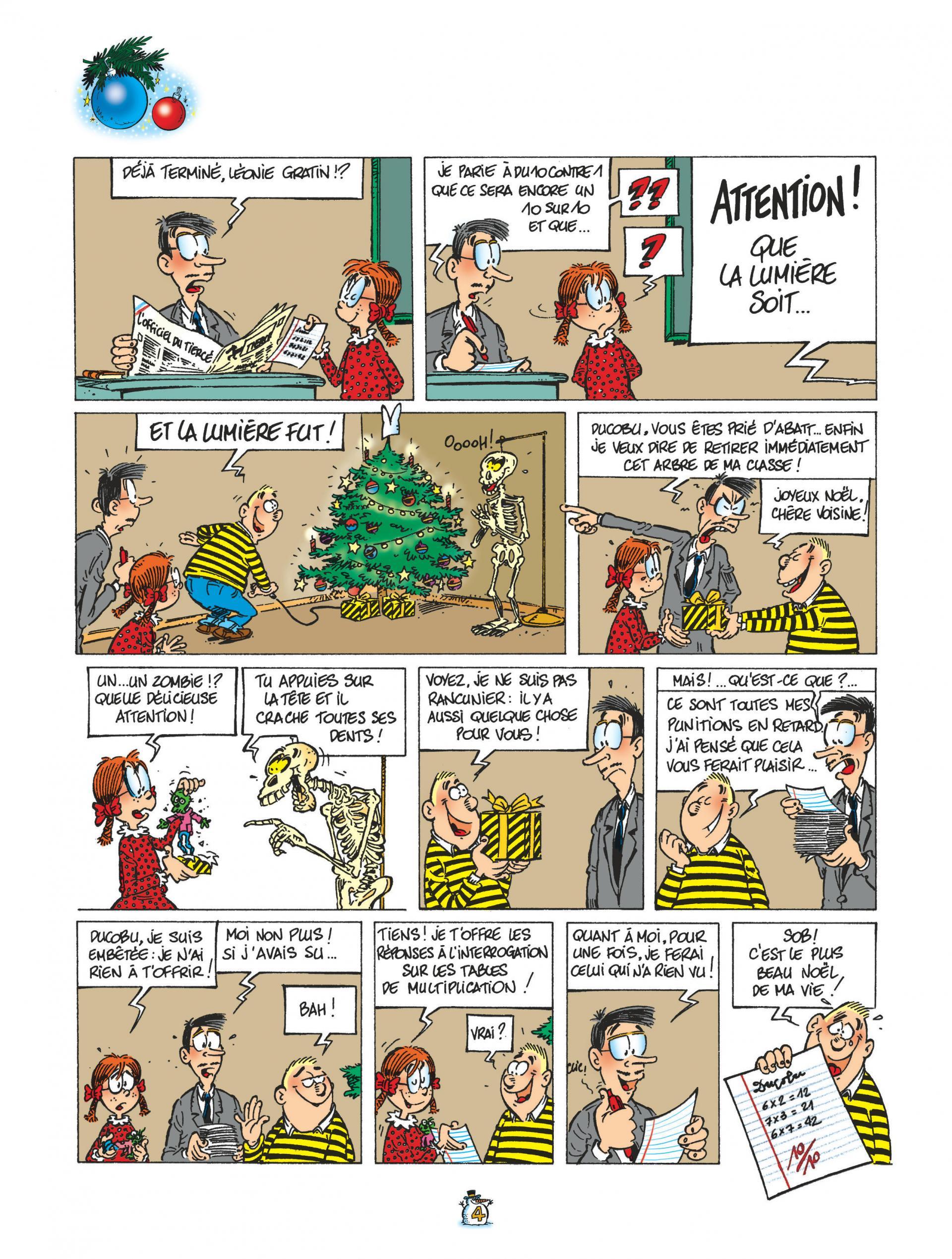 Ducobu La Compil' de Noël