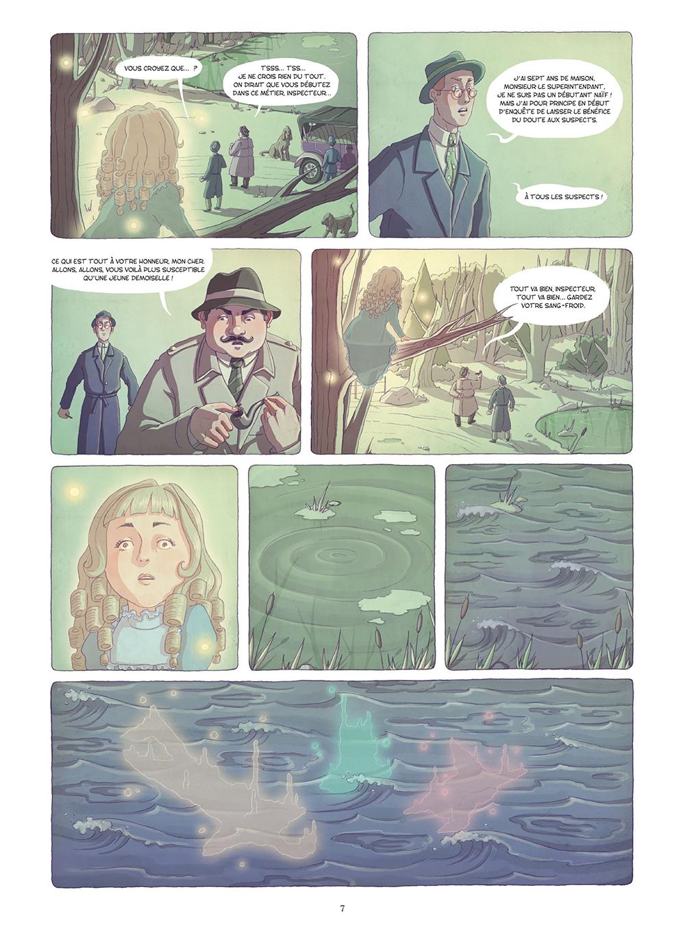 Extrait n°4 de la bd La Mystérieuse affaire Agatha Christie par Chantel Van Den Heuvel