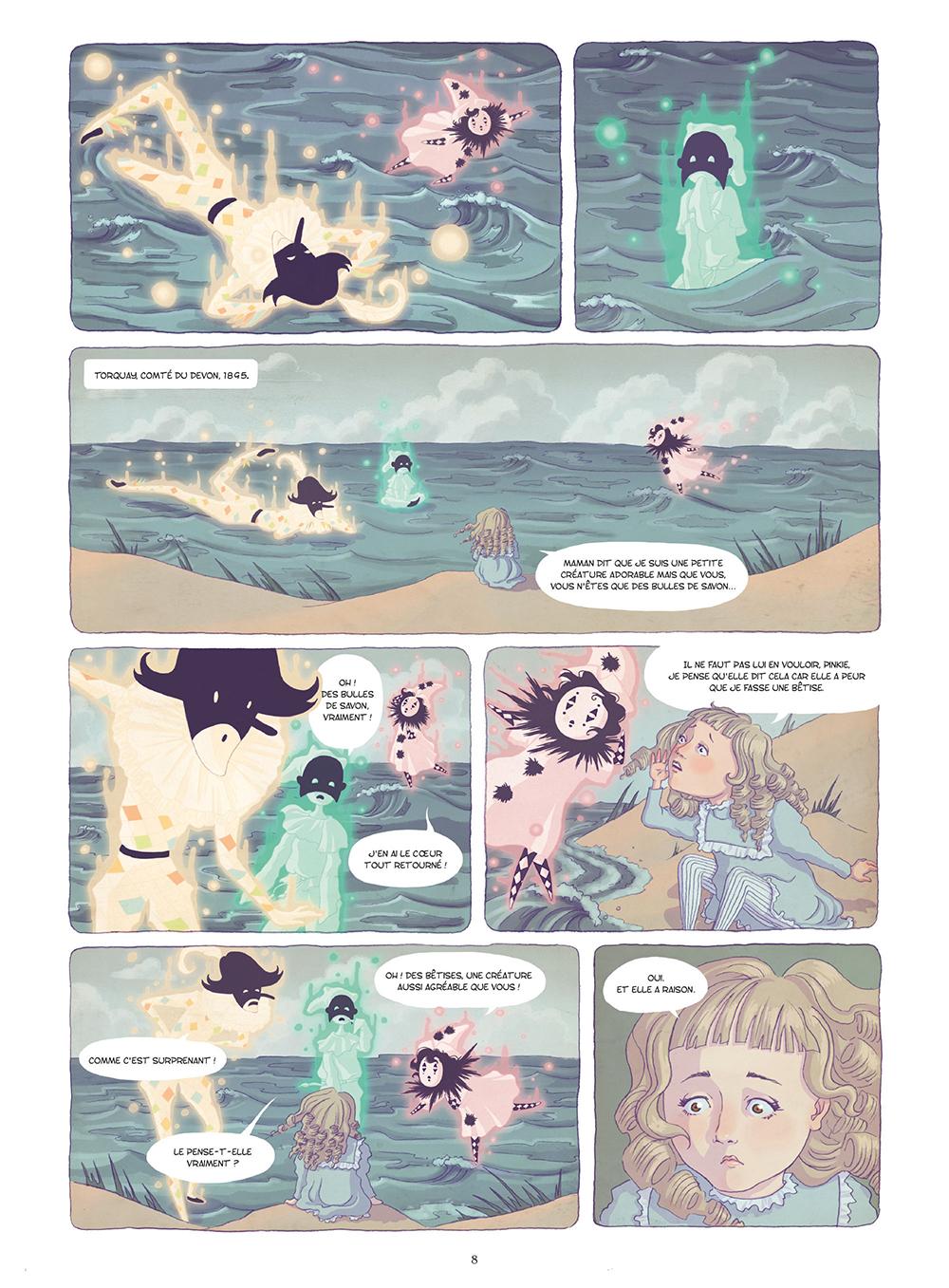 Extrait n°5 de la bd La Mystérieuse affaire Agatha Christie par Chantel Van Den Heuvel