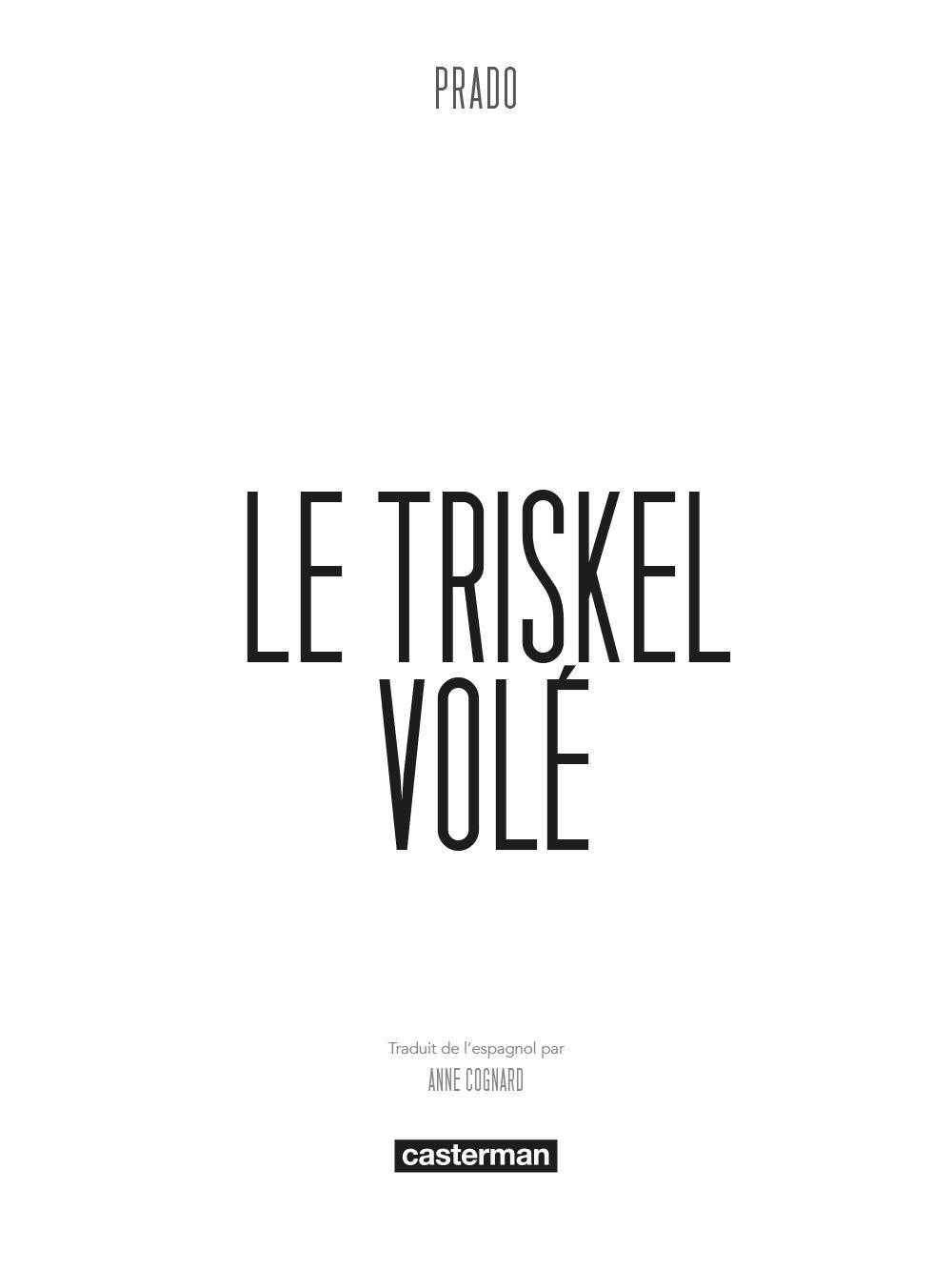 Extrait n°7 de la bd Le Triskel volé par Miguelanxo Prado