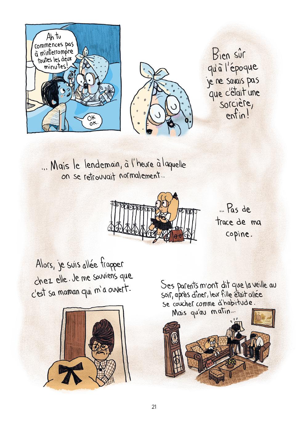 Extrait n°14 de la bd Sacrées sorcières par Pénélope Bagieu