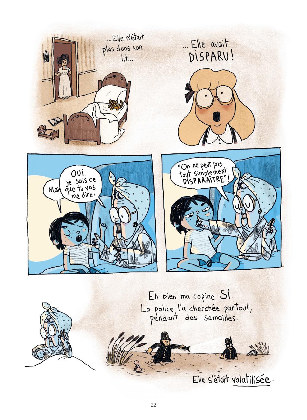 Extrait n°15 de la bd Sacrées sorcières par Pénélope Bagieu