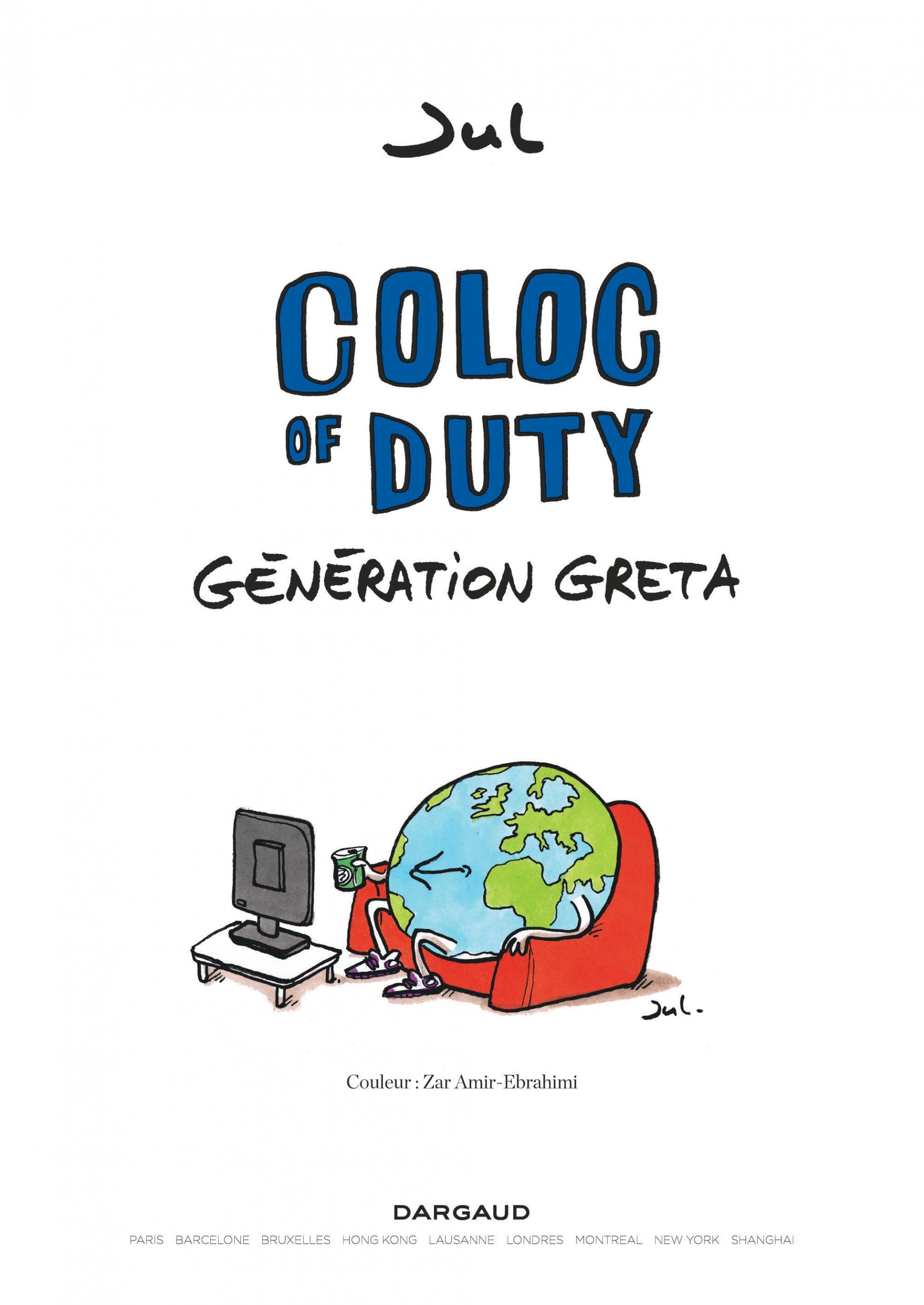 Coloc of Duty Génération Greta