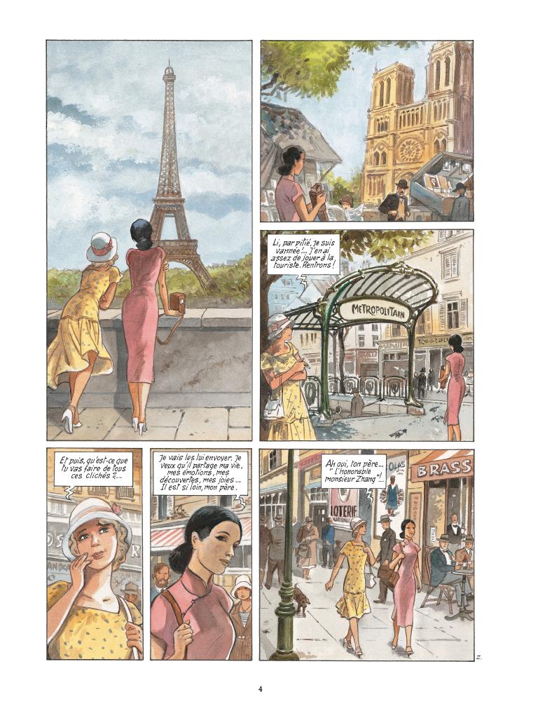 Extrait n°2 de la bd tome 2 par Maryse Charles