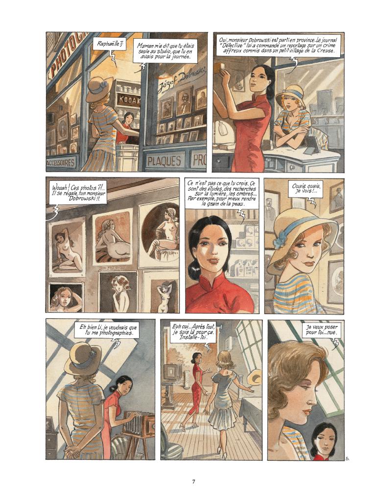 Extrait n°5 de la bd tome 2 par Maryse Charles