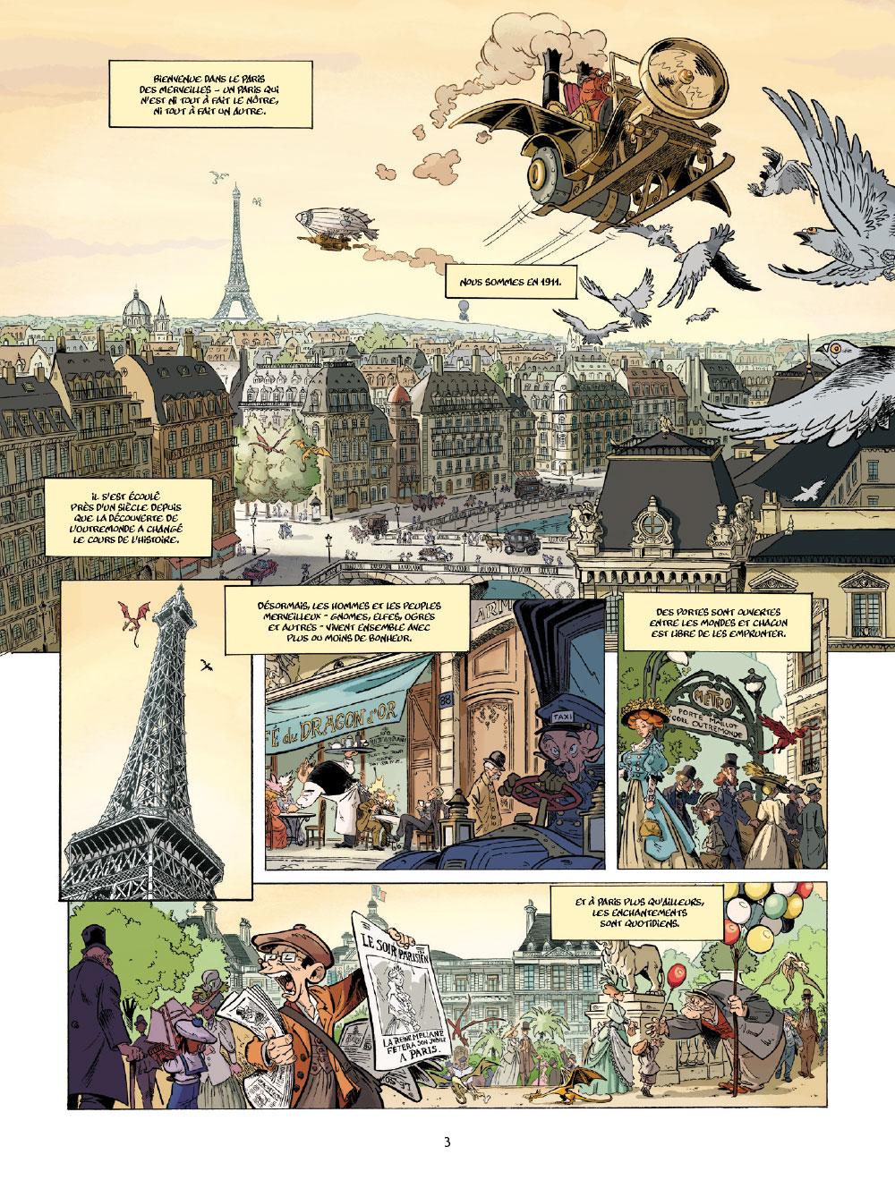 Extrait n°1 de la bd tome 1 par Étienne Willem