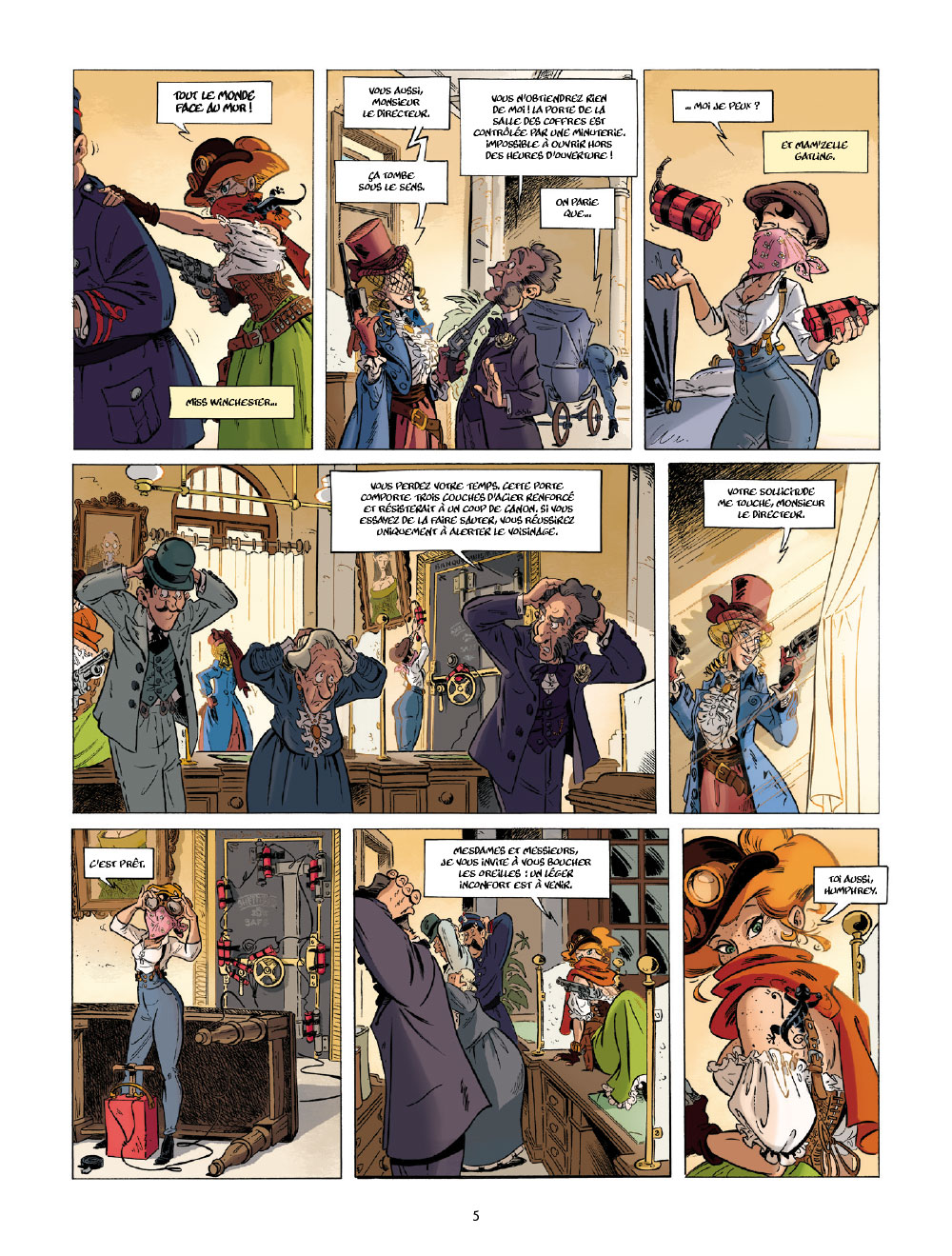 Extrait n°3 de la bd tome 1 par Étienne Willem