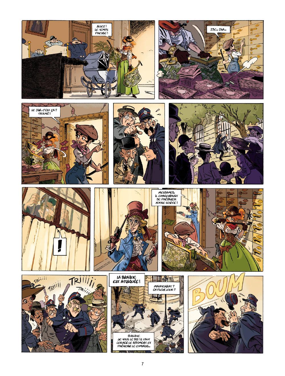 Extrait n°5 de la bd tome 1 par Étienne Willem