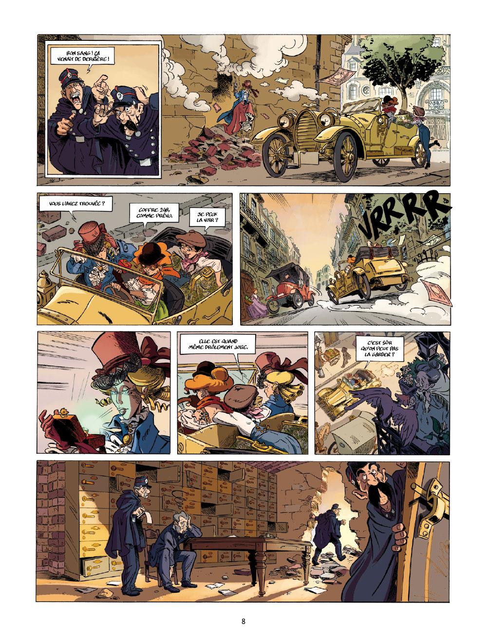 Extrait n°6 de la bd tome 1 par Étienne Willem