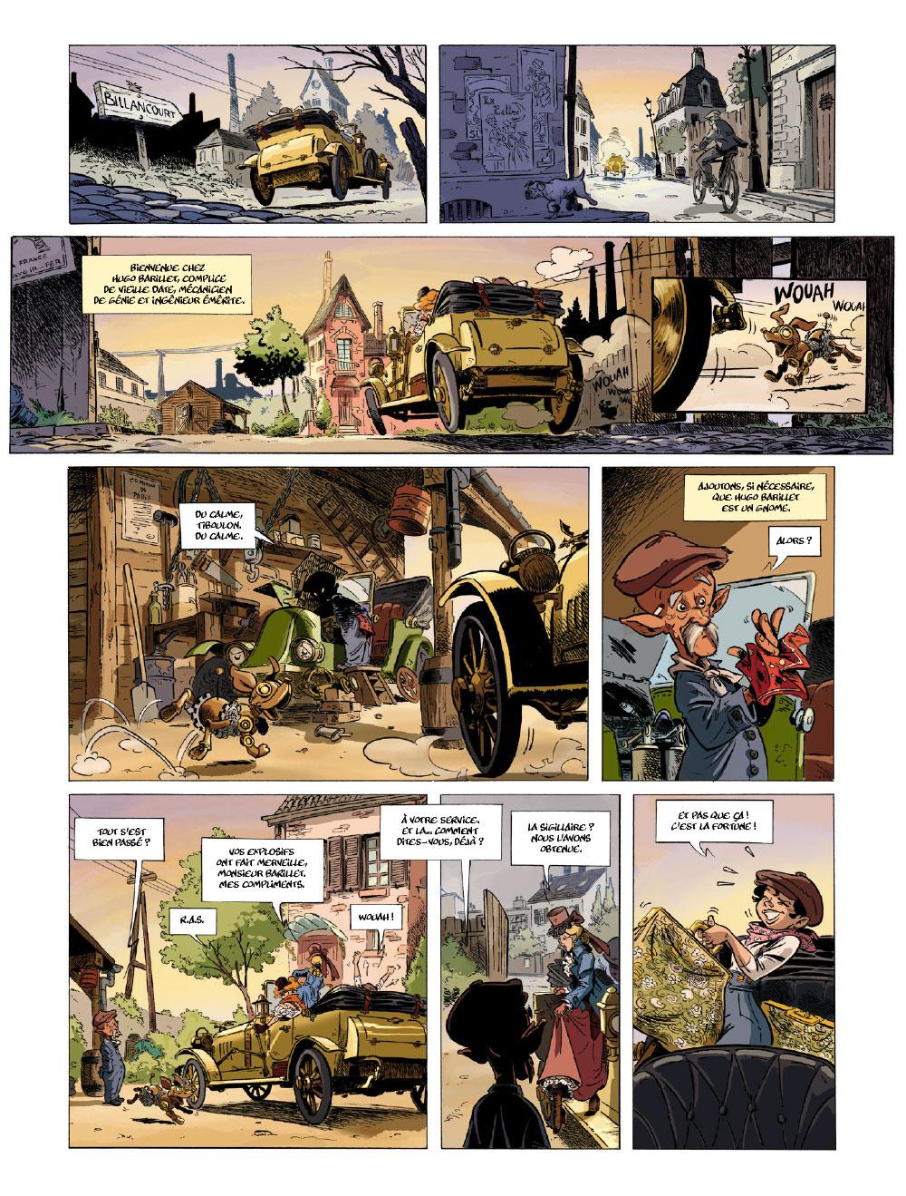 Extrait n°7 de la bd tome 1 par Étienne Willem