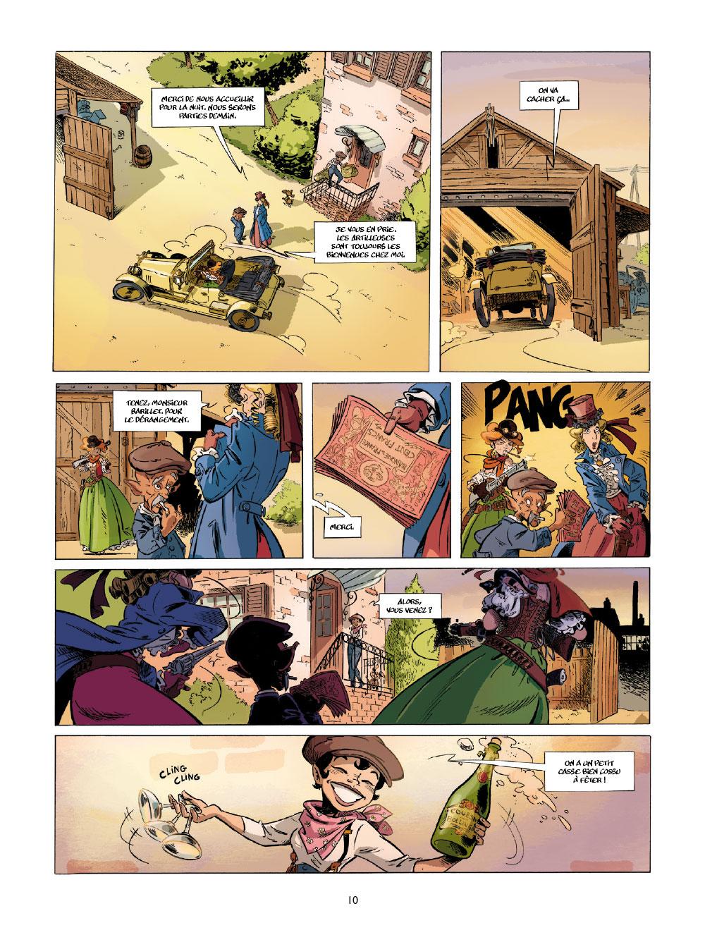Extrait n°8 de la bd tome 1 par Étienne Willem