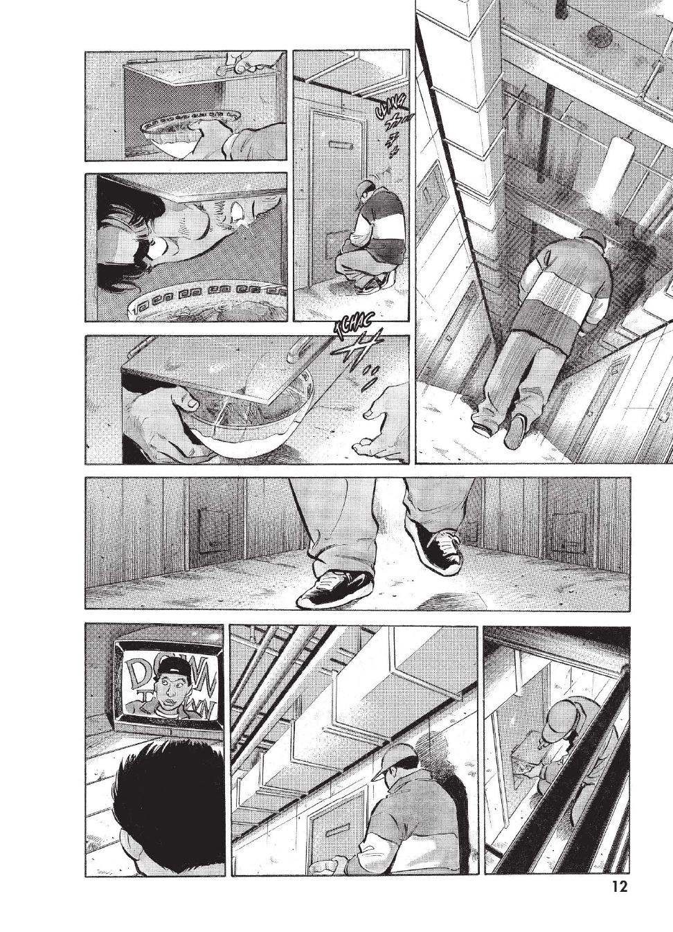 Extrait n°5 du manga tome 1 par Caribu Marley, Marginal, Yuhô Hijikata