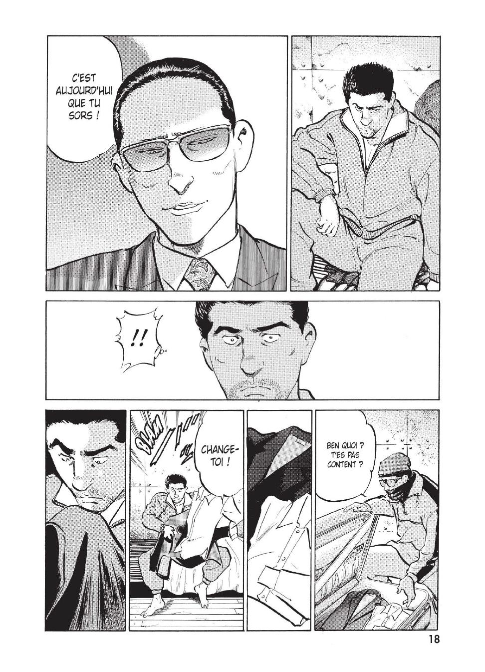 Extrait n°11 du manga tome 1 par Caribu Marley, Marginal, Yuhô Hijikata