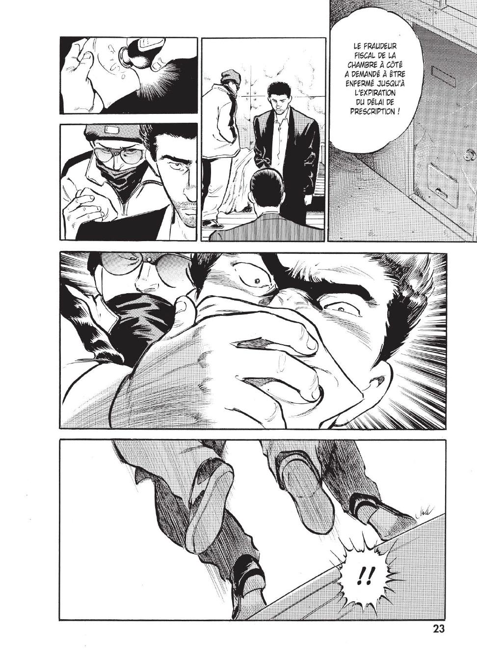 Extrait n°15 du manga tome 1 par Caribu Marley, Marginal, Yuhô Hijikata
