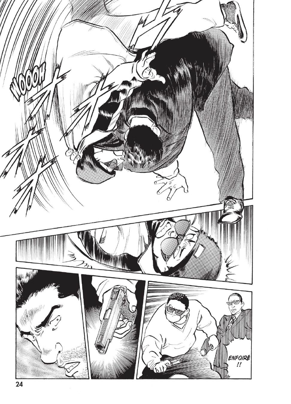 Extrait n°16 du manga tome 1 par Caribu Marley, Marginal, Yuhô Hijikata