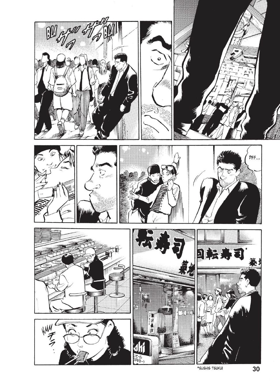 Extrait n°23 du manga tome 1 par Caribu Marley, Marginal, Yuhô Hijikata
