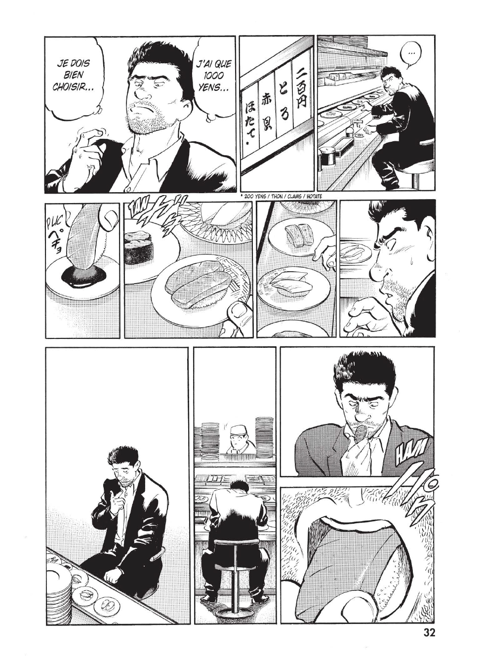 Extrait n°25 du manga tome 1 par Caribu Marley, Marginal, Yuhô Hijikata