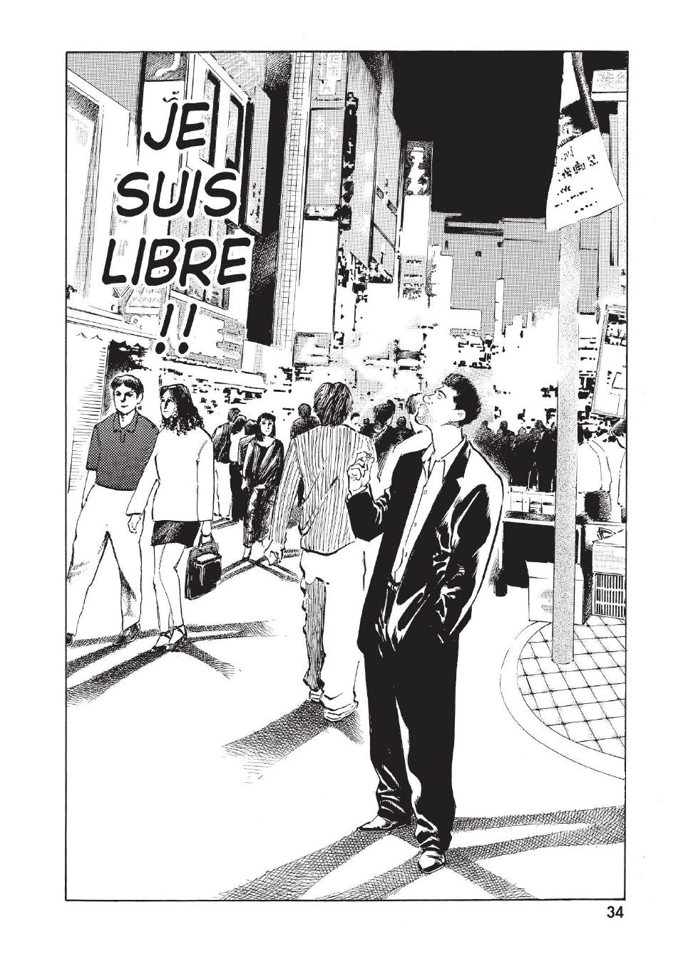 Extrait n°27 du manga tome 1 par Caribu Marley, Marginal, Yuhô Hijikata