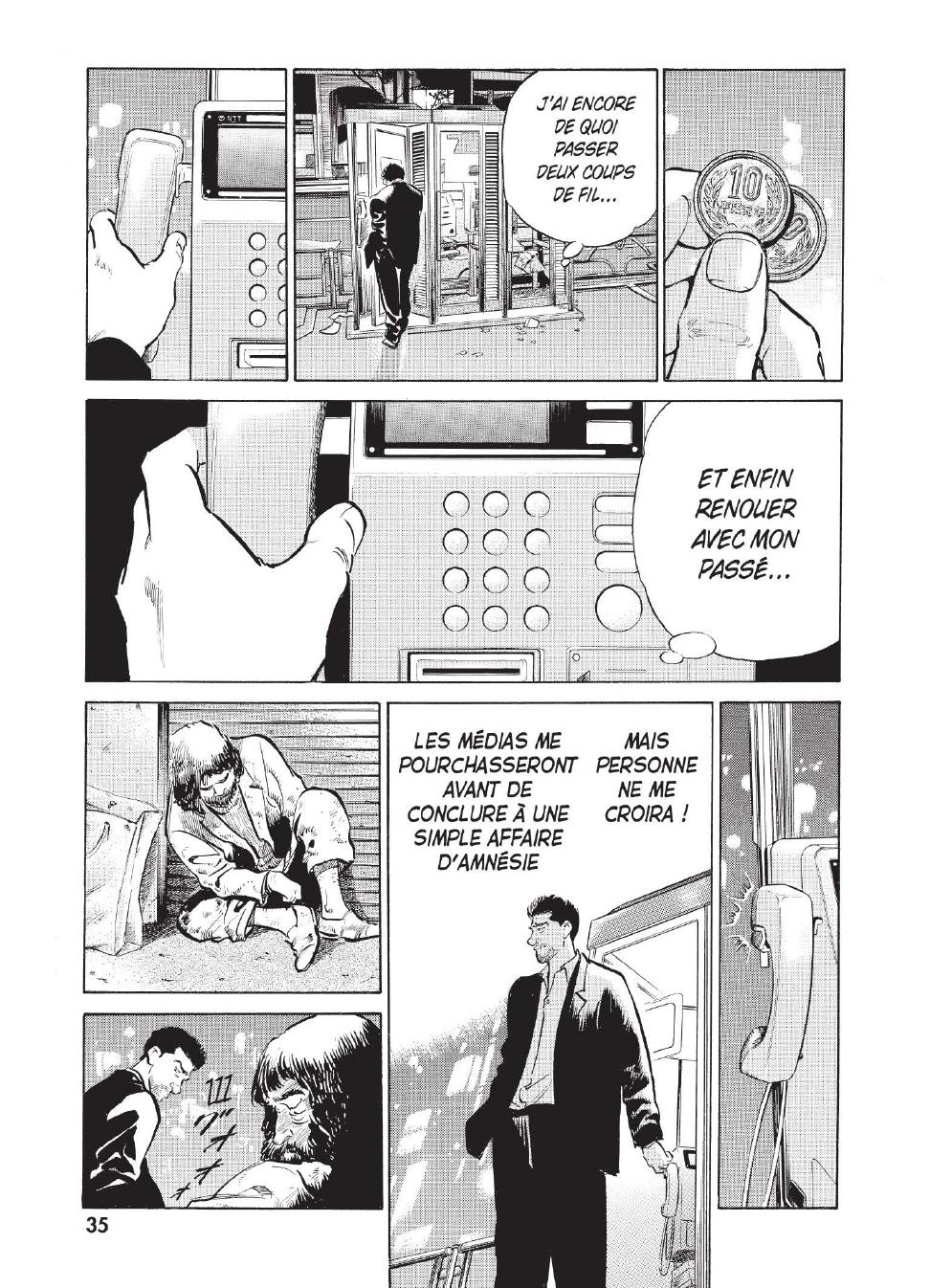 Extrait n°28 du manga tome 1 par Caribu Marley, Marginal, Yuhô Hijikata
