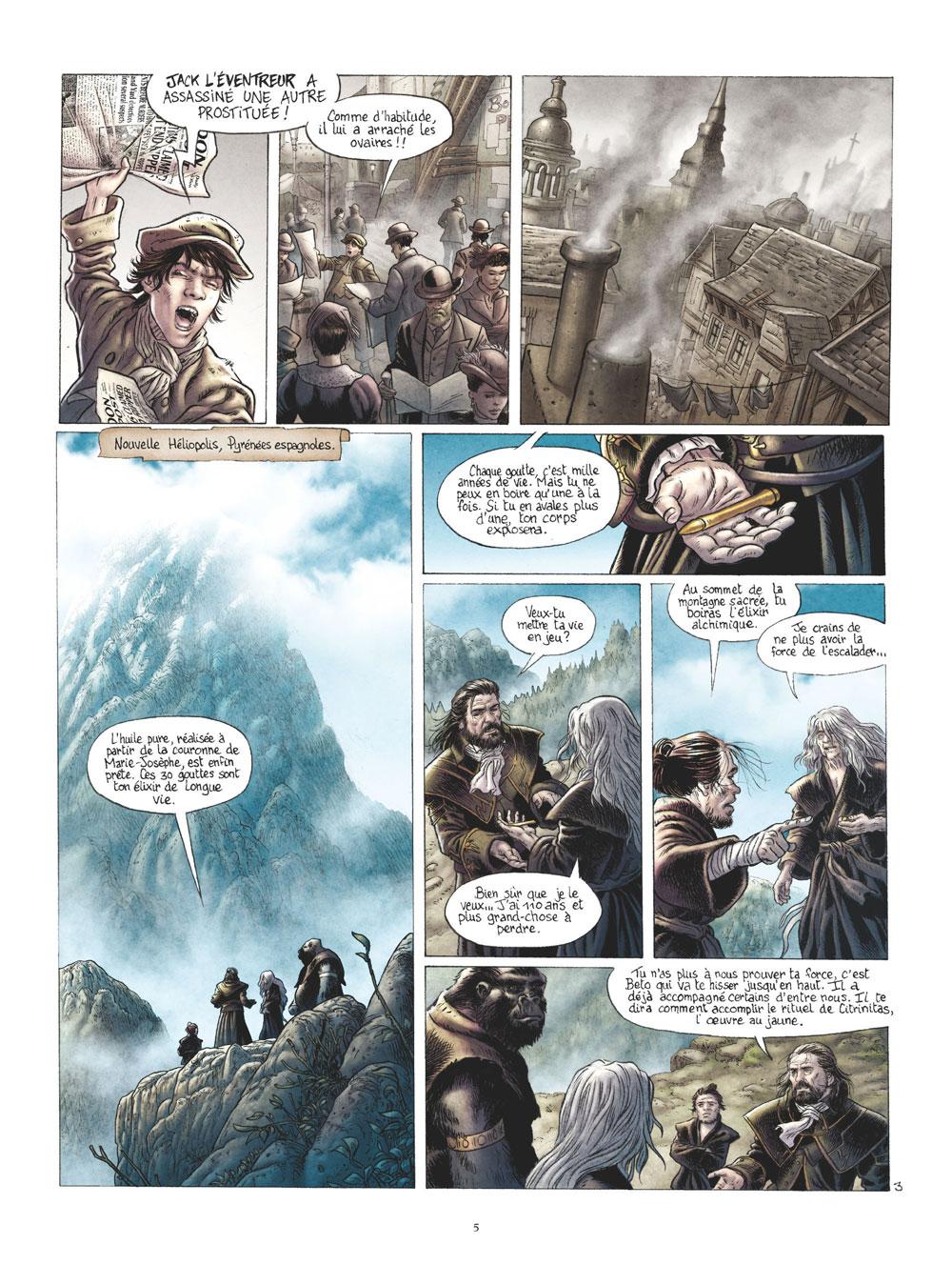 Extrait n°3 de la bd tome 4 par Jérémy