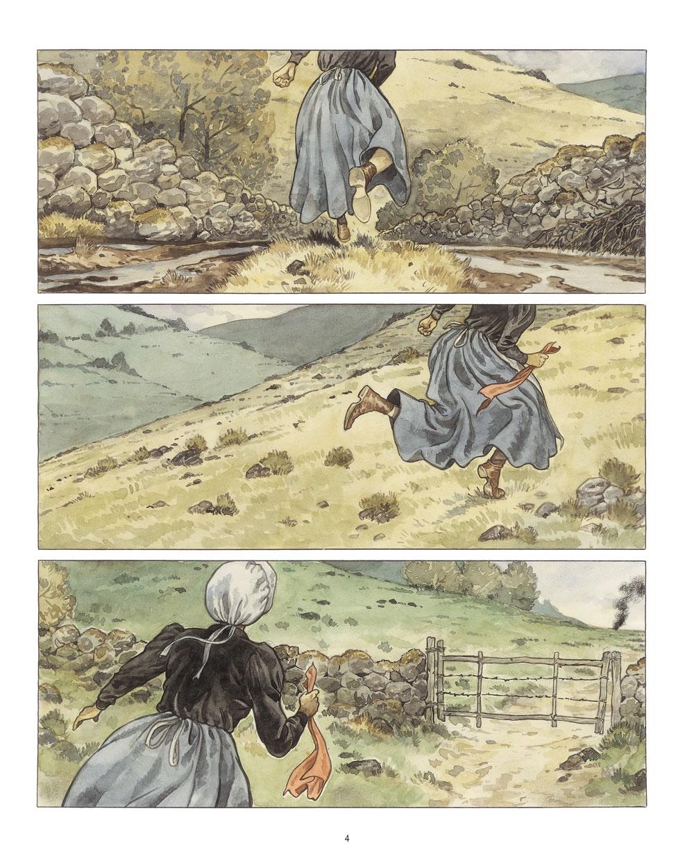 Extrait n°2 de la bd Mary Jane par Frank Le Gall