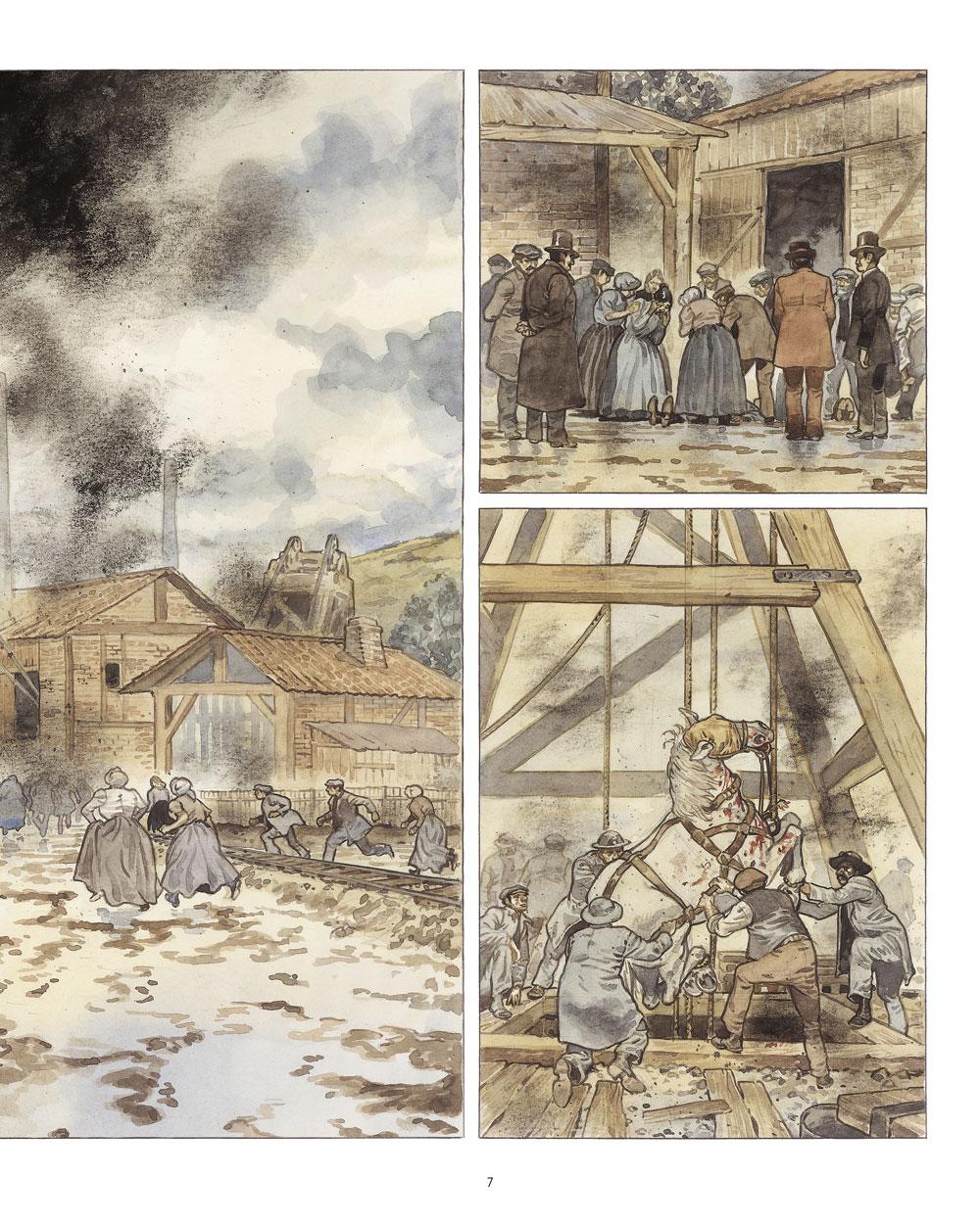 Extrait n°5 de la bd Mary Jane par Frank Le Gall