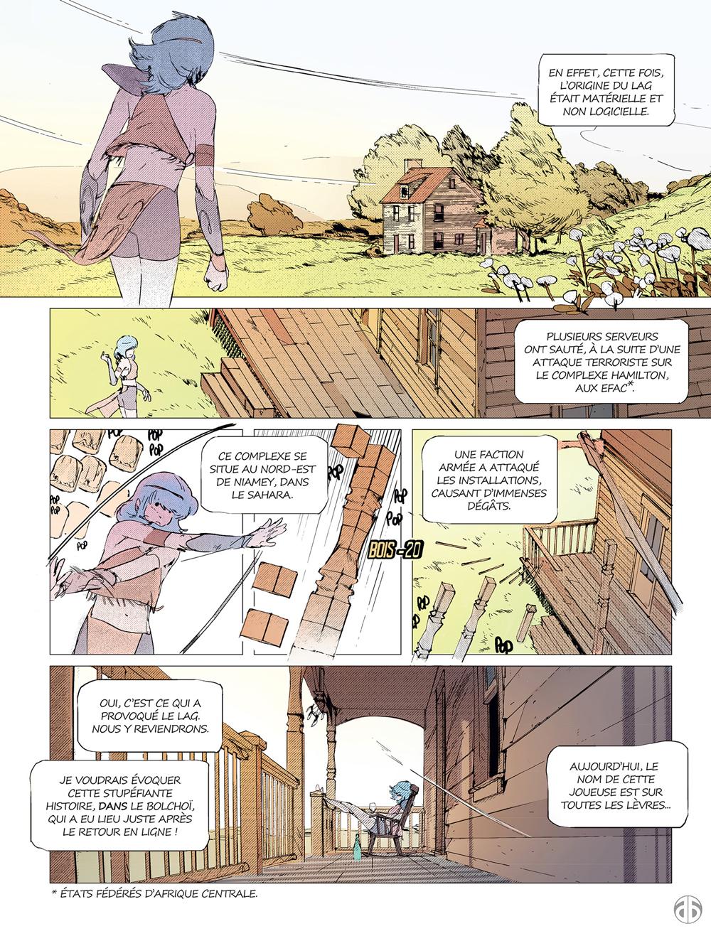 Extrait n°3 de la bd tome 2 par Boulet