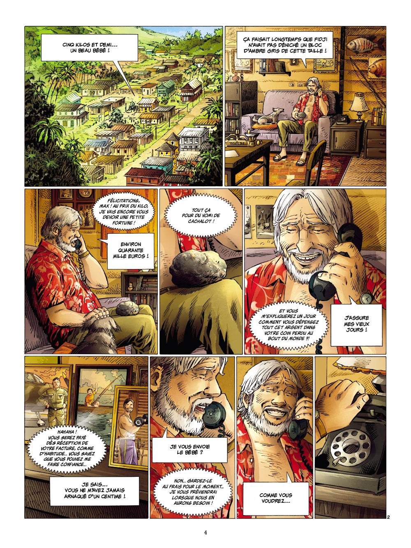 Extrait n°2 de la bd tome 1 par Corbeyran