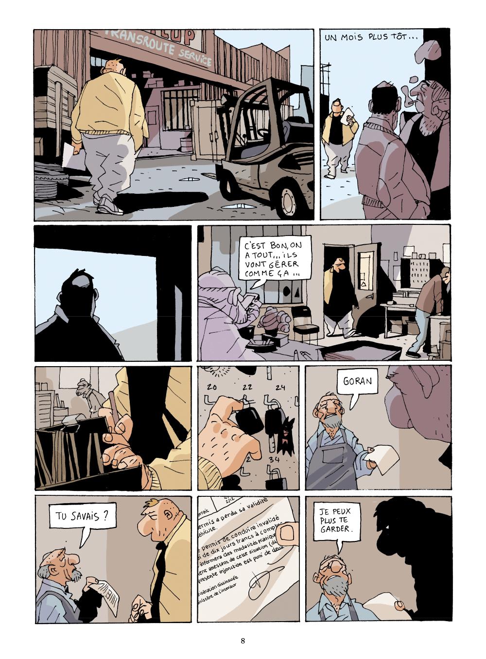 Extrait n°6 de la bd GoSt 111 par Marion Mousse