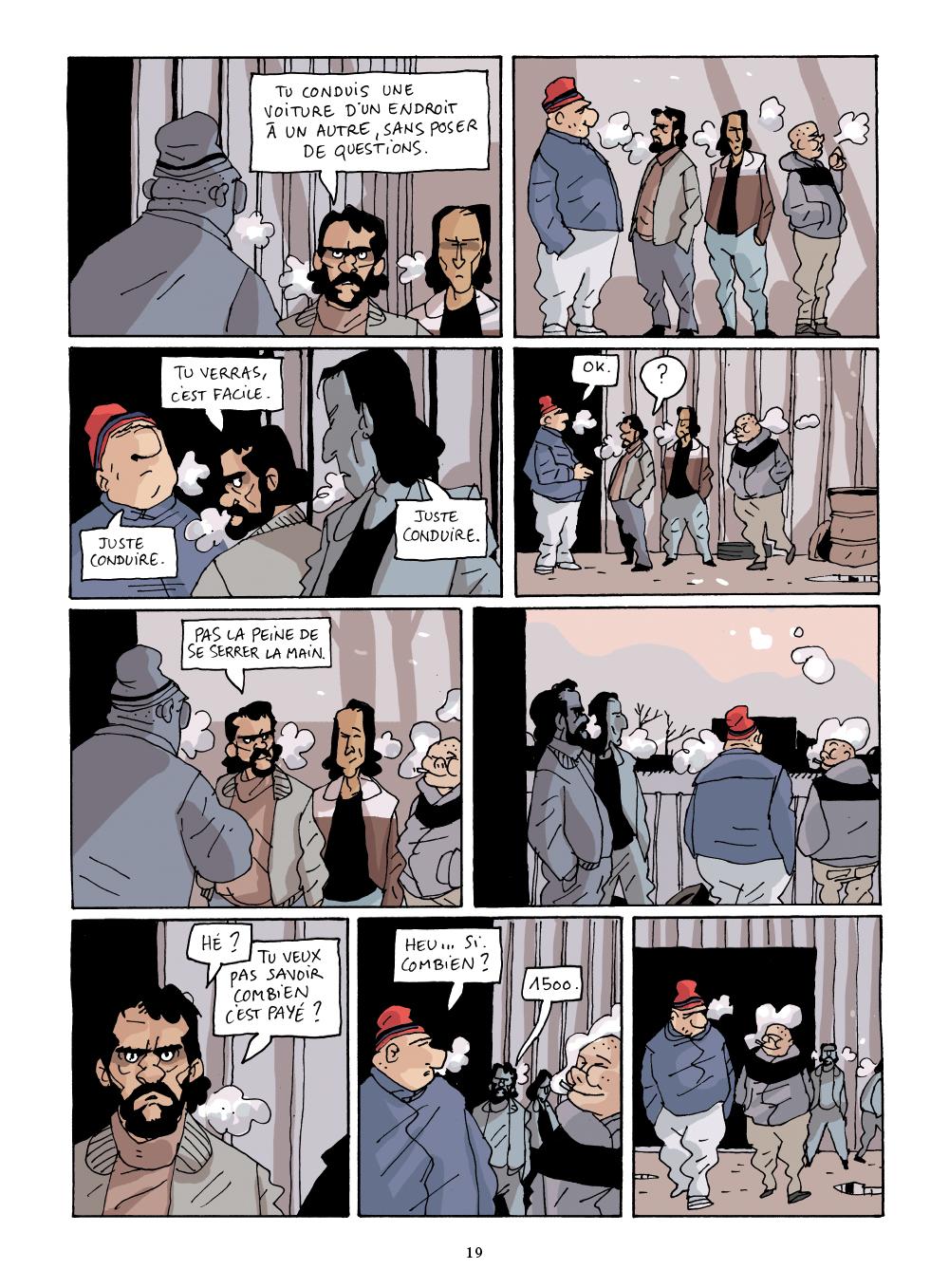 Extrait n°17 de la bd GoSt 111 par Marion Mousse