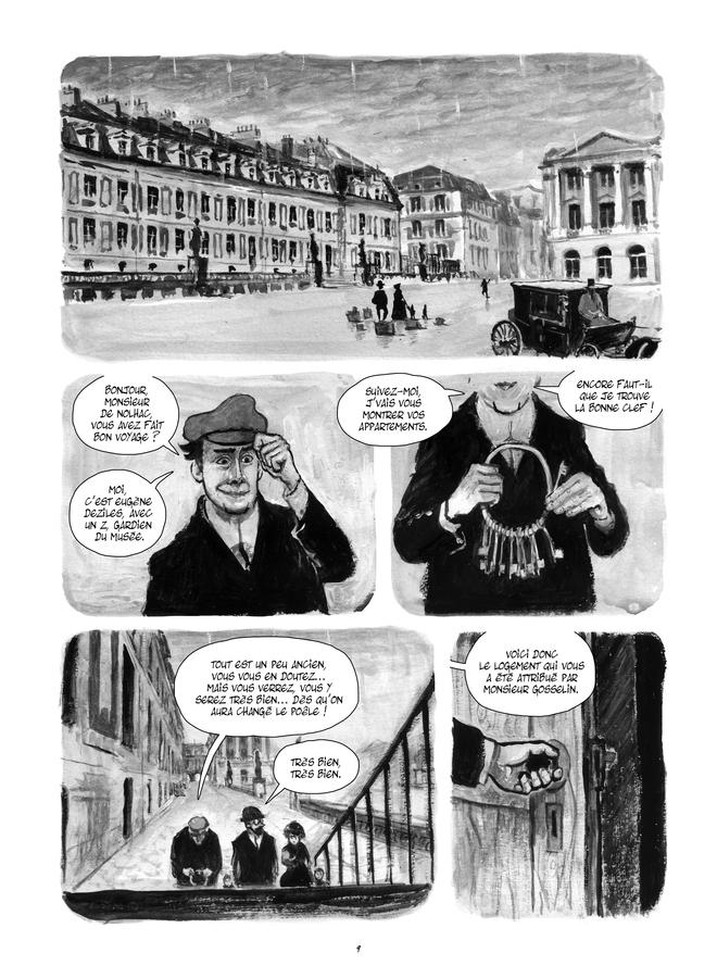 Extrait n°1 de la bd Le Château de mon père : Versailles ressuscité par Maïté Labat