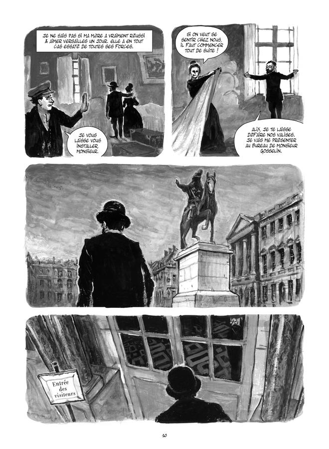 Extrait n°2 de la bd Le Château de mon père : Versailles ressuscité par Maïté Labat