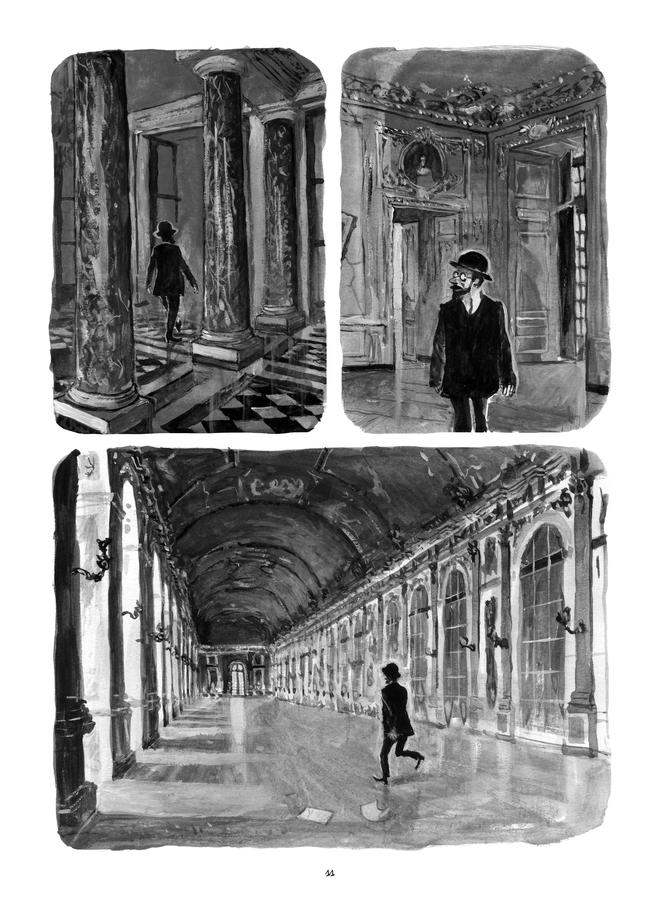 Extrait n°3 de la bd Le Château de mon père : Versailles ressuscité par Maïté Labat