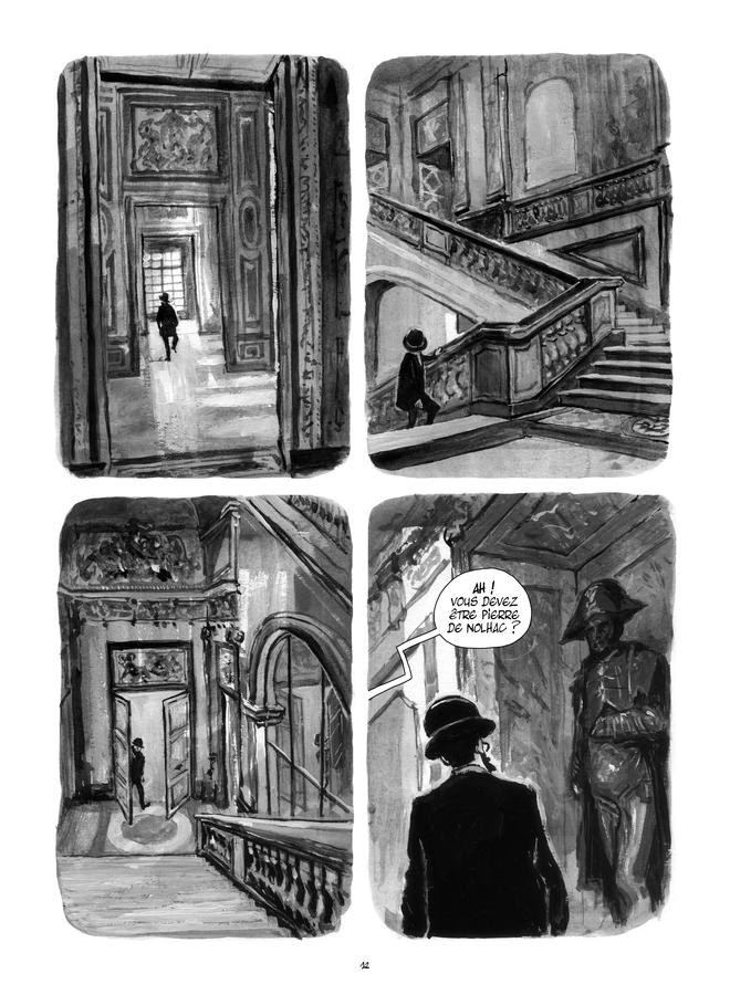 Extrait n°4 de la bd Le Château de mon père : Versailles ressuscité par Maïté Labat