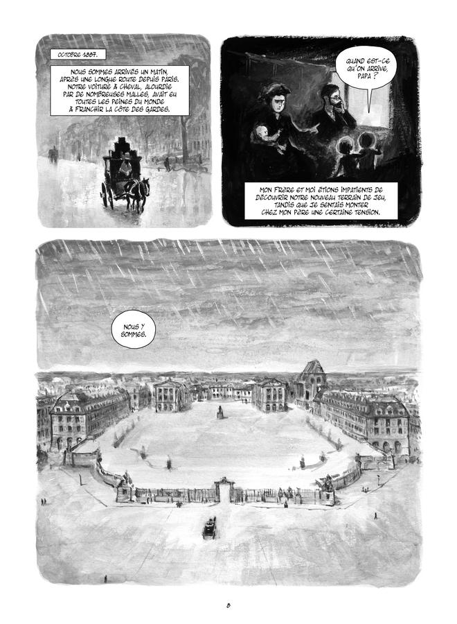 Extrait n°5 de la bd Le Château de mon père : Versailles ressuscité par Maïté Labat