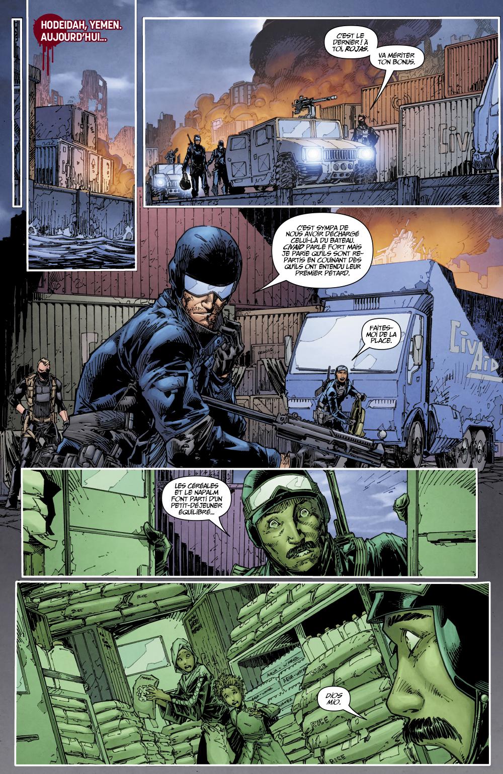 Extrait n°2 du comics tome 1 par Tim Seeley