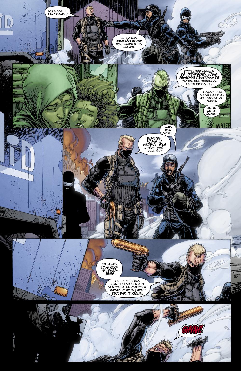 Extrait n°3 du comics tome 1 par Tim Seeley