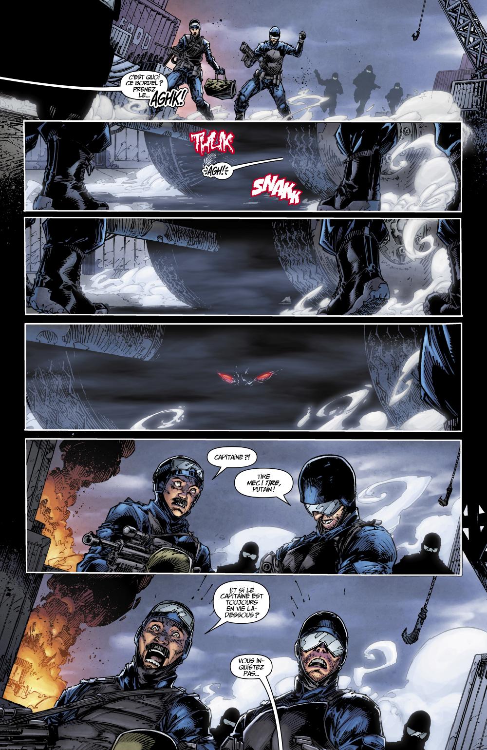 Extrait n°4 du comics tome 1 par Tim Seeley