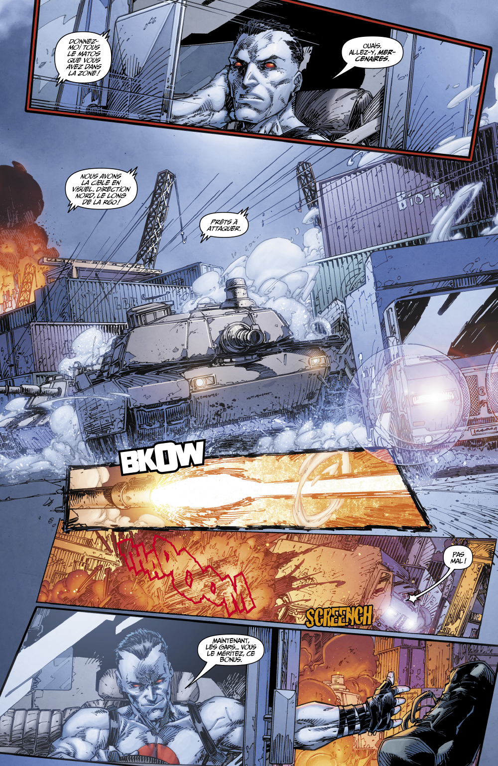 Extrait n°8 du comics tome 1 par Tim Seeley
