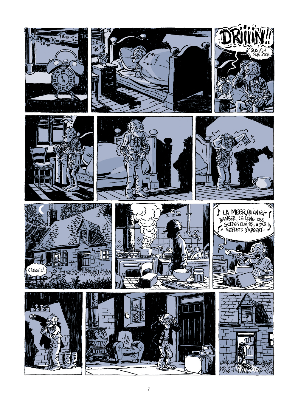 Extrait n°1 de la bd Le voyage d'Abel par Bruno Duhamel