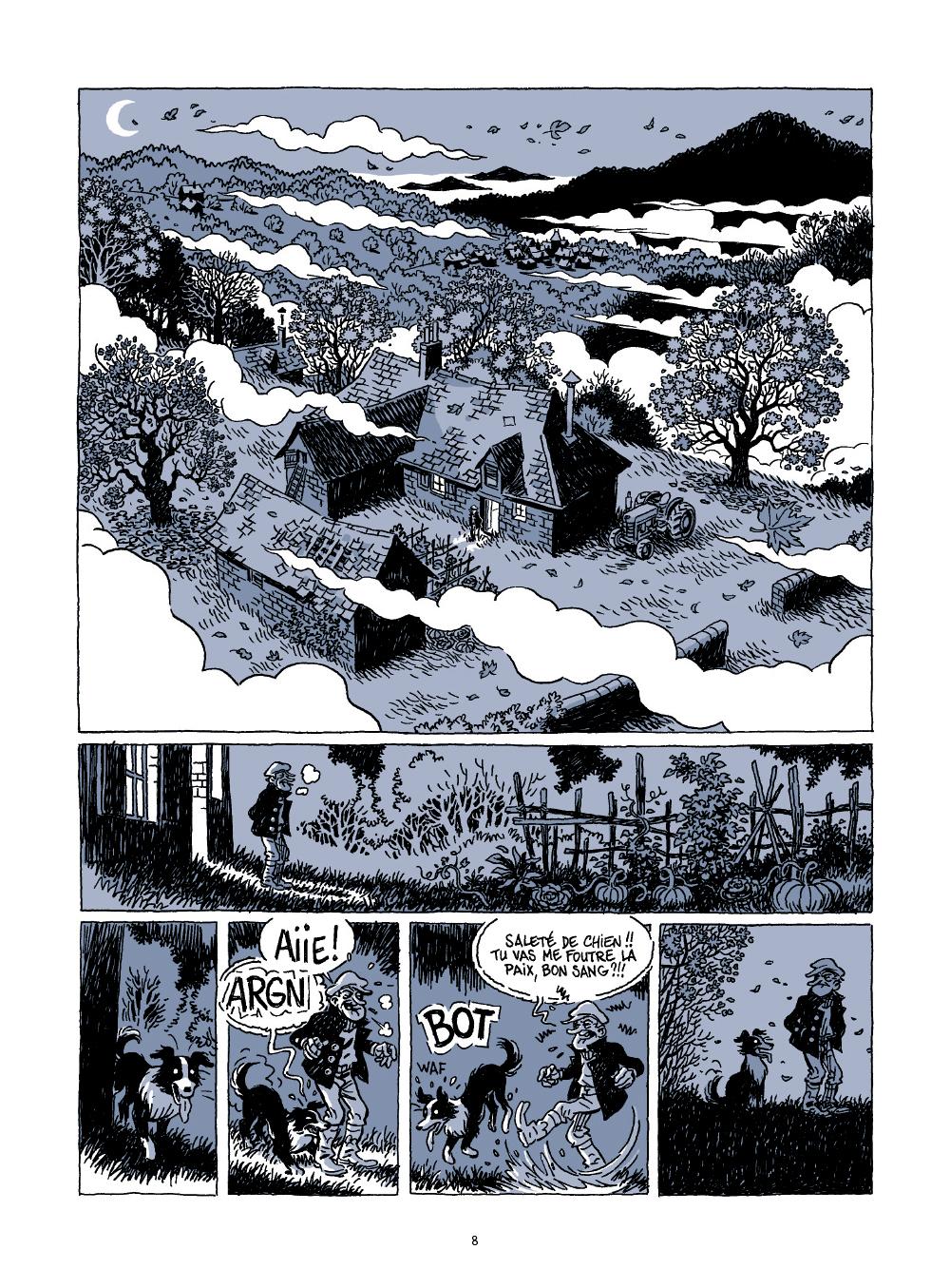 Extrait n°2 de la bd Le voyage d'Abel par Bruno Duhamel