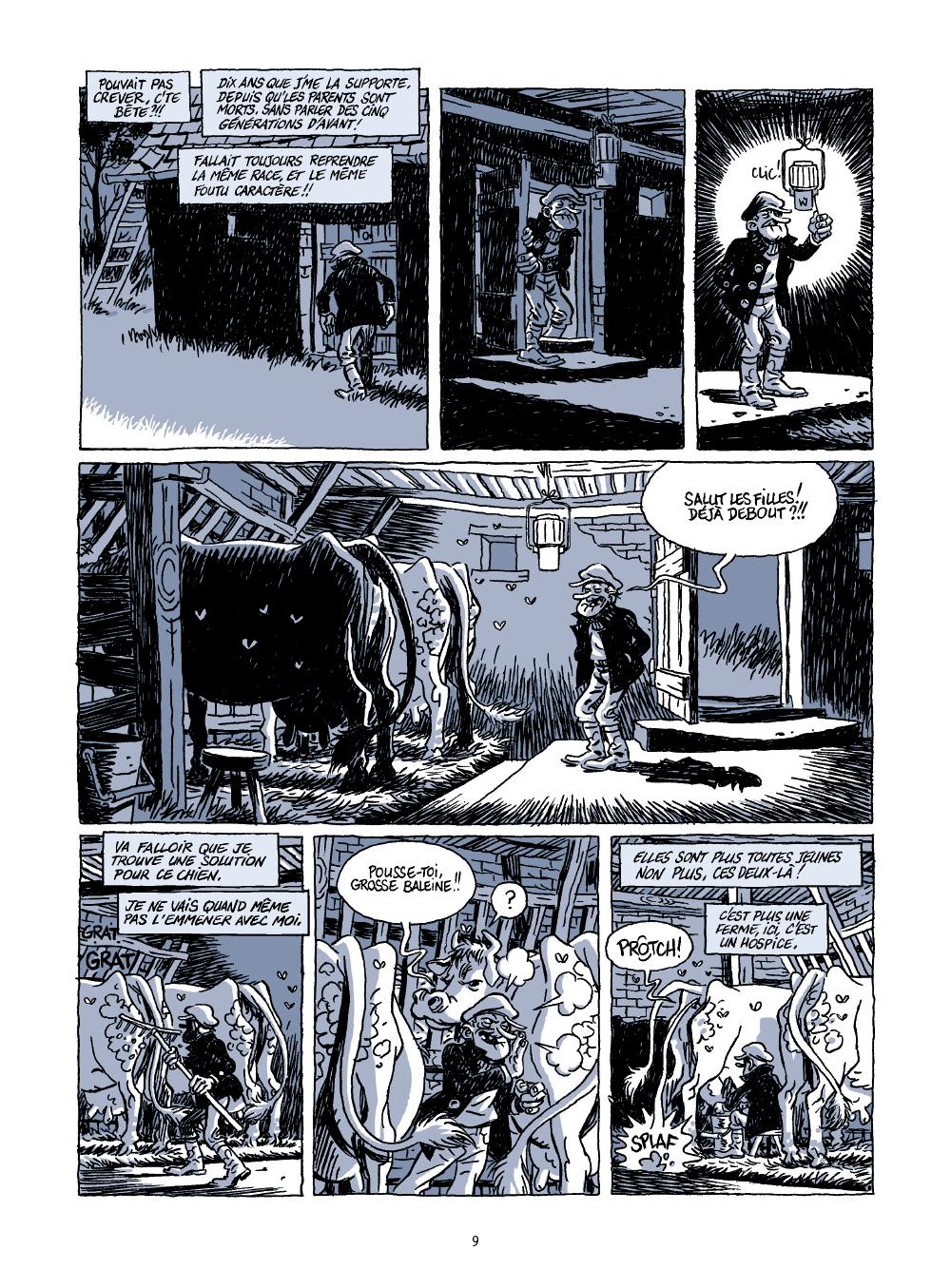 Extrait n°3 de la bd Le voyage d'Abel par Bruno Duhamel