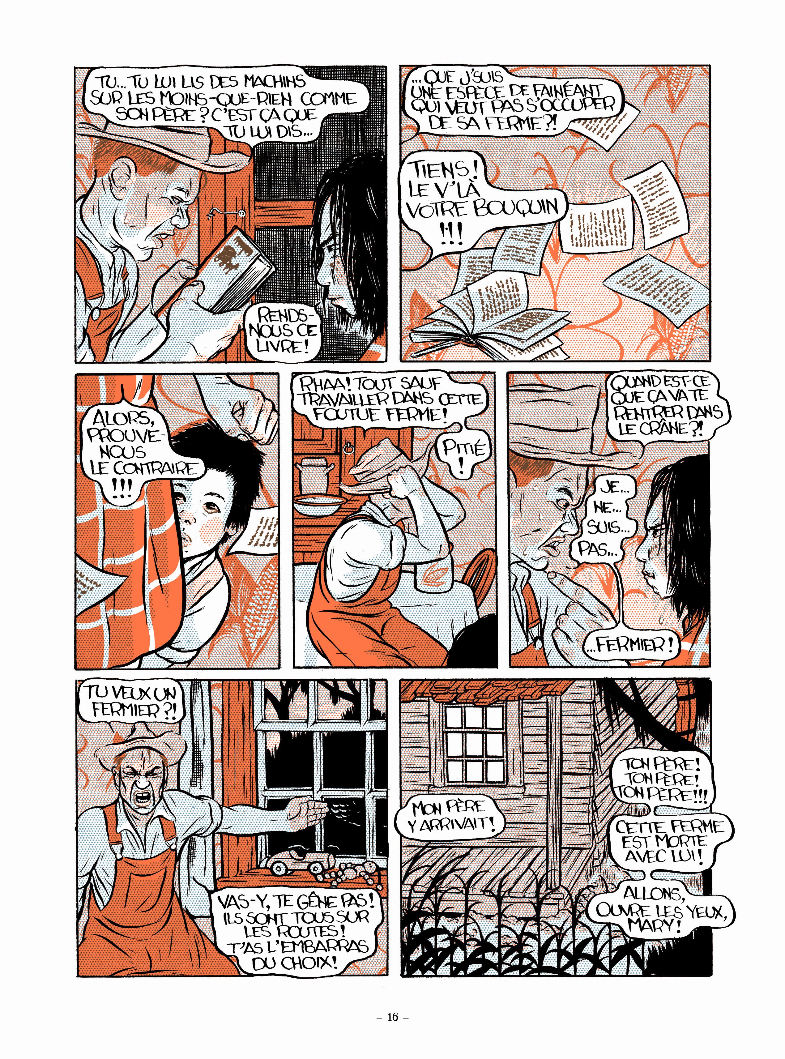 Extrait n°2 Un travail comme un autre par Alex W.inker